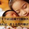 せどりでは1店舗で1個仕入れが出来れば、月10万円稼げる。